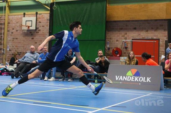 Deze afbeelding hoort bij 'Nick Fransman en Ieva Pope winnen Master-toernooi in Zoetermeer' en is gemaakt door René Lagerwaard