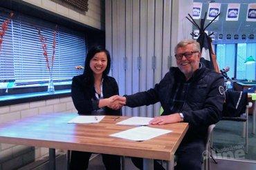 Alida Chen vaste klant op traject Barendrecht-Nijmegen