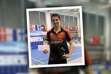 Erik Meijs wint eerste internationale titel in Slovenië