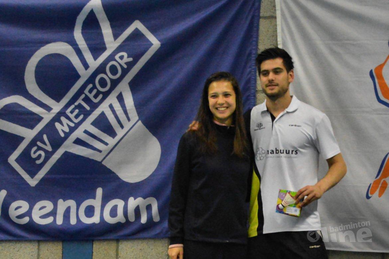Manon Sibbald en Nick Fransman titelwinnaars in Veendam