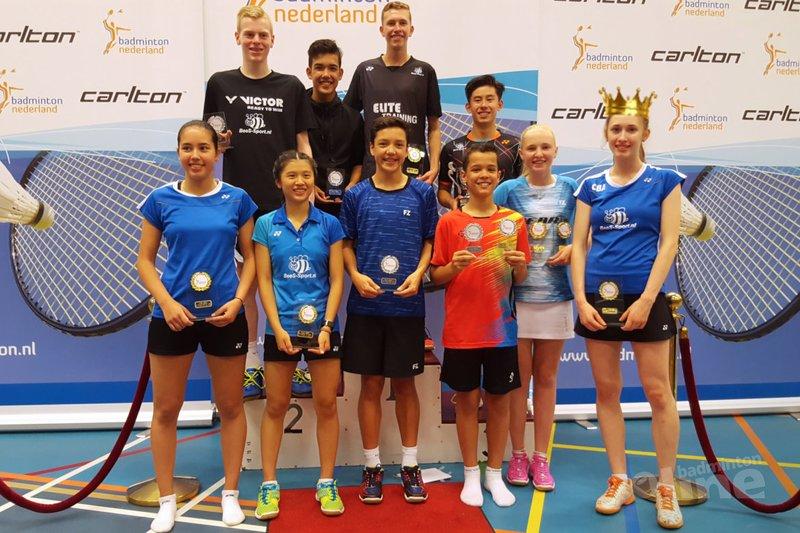 Madouc Linders kroont zichzelf tot koningin van Tilburg - BV Almere / badmintonline.nl