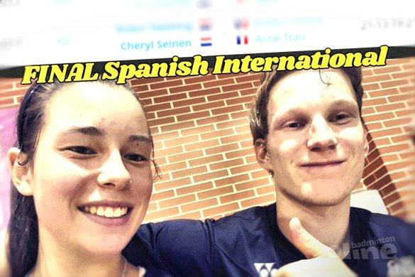 Twee Nederlandse finales in Madrid tijdens Spanish International - Cheryl Seinen