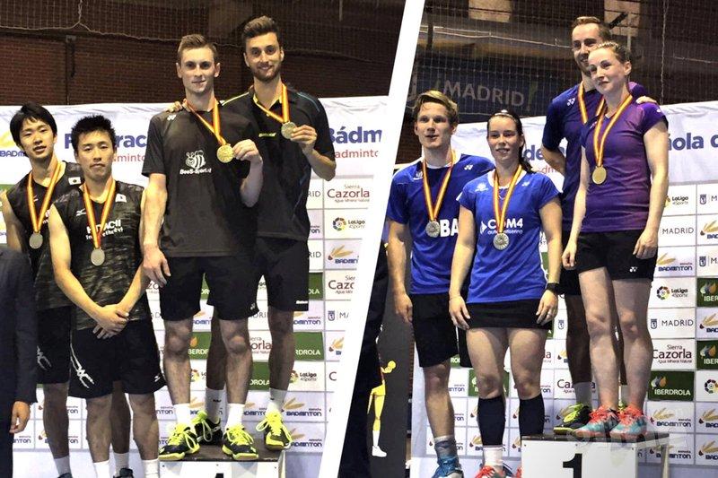 Jacco Arends en Ruben Jille winnen Spanish International - Badminton Nederland