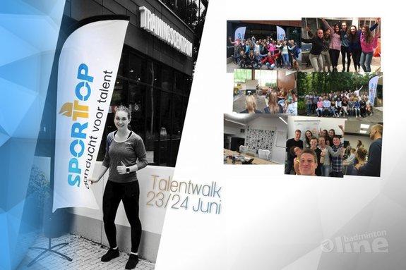 Deze afbeelding hoort bij 'Topbadmintonner Imke van der Aar blikt terug op leuk weekend met TalentCentraal' en is gemaakt door Imke van der Aar