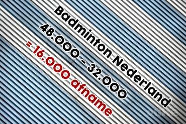 Dieptepunten kunnen altijd dieper: 16.000 leden foetsie in drie jaar tijd