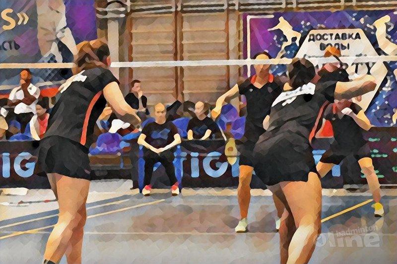 Duitse blokkade in Rusland houdt Van der Aar en Jille uit halve finale - Badminton Nederland / badmintonline.nl