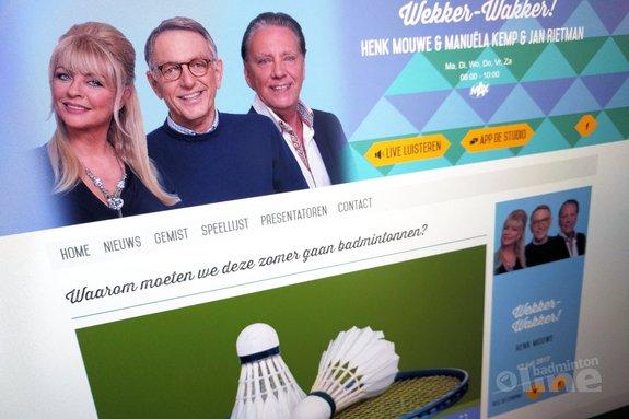 Deze afbeelding hoort bij 'Waarom moeten we deze zomer gaan badmintonnen?' en is gemaakt door NPO Radio 5