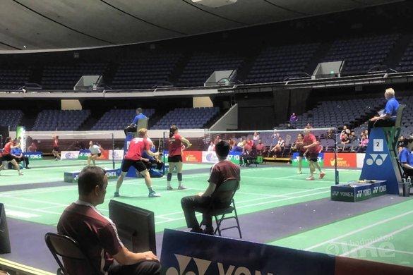 Cheryl Seinen en Robin Tabeling verslaan Olympische veteraan Tony Gunawan - Badminton Nederland