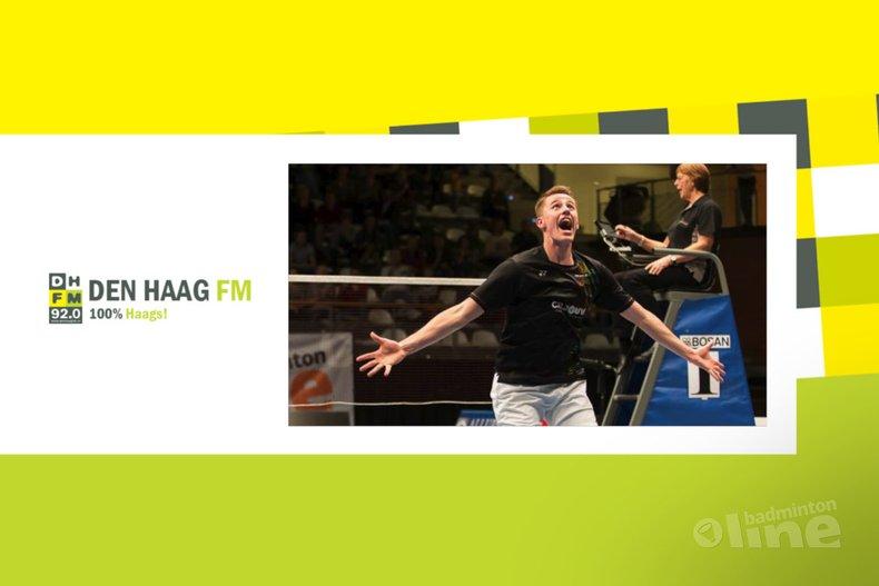 Deze afbeelding hoort bij 'Den Haag FM: Badmintontalent Mark Caljouw in Top 50 wereldranglijst' en is gemaakt door René Lagerwaard / badmintonline.nl