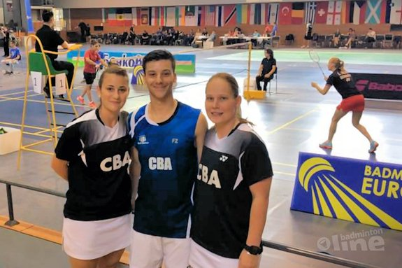 Iris Tabeling: Winner of the Bulgarian International in mixed doubles with Alex Vlaar! - Iris Tabeling