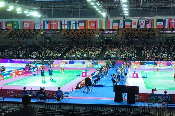 Jacco Arends en Selena Piek door naar tweede ronde WK Badminton 2017 in Glasgow - Badminton Nederland