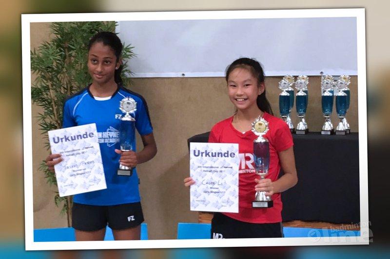 Chloe Li wint Refrath Cup 2017 - Chloe Li