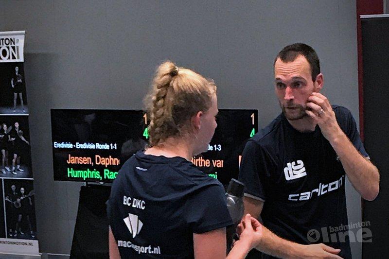 DKC wint eerste Nederlandse Badminton Eredivisie-wedstrijd met 6-2 - BC DKC