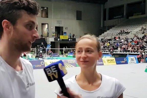 Deze afbeelding hoort bij 'Selena Piek reaches two finals at Belgian International' en is gemaakt door Badminton Europe