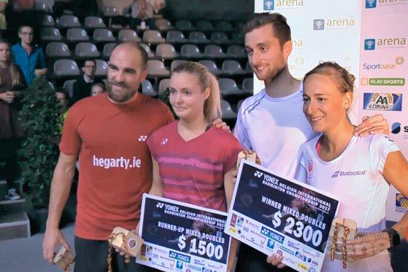 Jacco Arends en Selena Piek winnen Leuvense finale - Badminton Europe