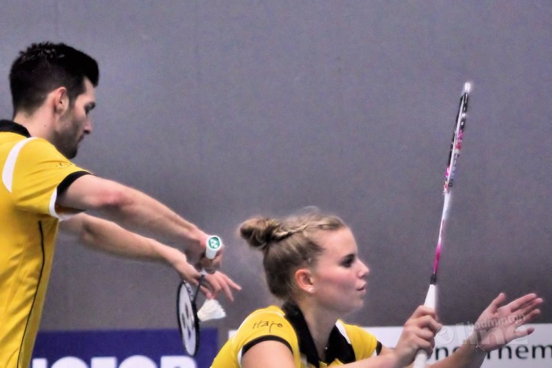 Almere wint met maximale score van Roosterse in Nederlandse Badminton Eredivisie - Geert Berghuis