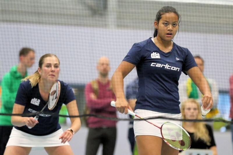DKC wint Nederlandse Badminton Eredivisie-wedstrijd overtuigend van TFS Barendrecht - Ashton Tokromo