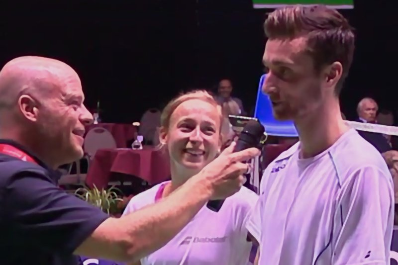 Jacco Arends about Belgian International victory: not looking back only forward - Badminton Europe