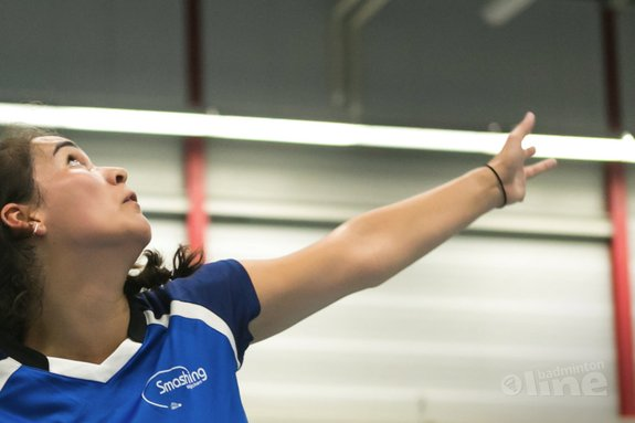 Deze afbeelding hoort bij 'Smashing pakt drie punten in tweede ronde Nederlandse Badminton Eredivisie' en is gemaakt door René Lagerwaard