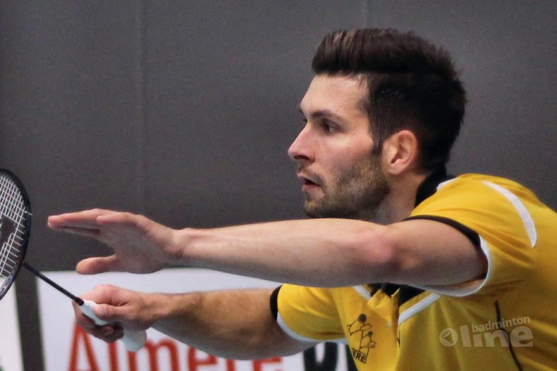 Deze afbeelding hoort bij 'Dubbelweekend in de Nederlandse Badminton Eredivisie voor Almere ' en is gemaakt door Geert Berghuis