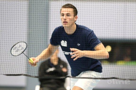 Pittig programma DKC tijdens dubbelweekend in Nederlandse Badminton Eredivisie - Ashton Tokromo