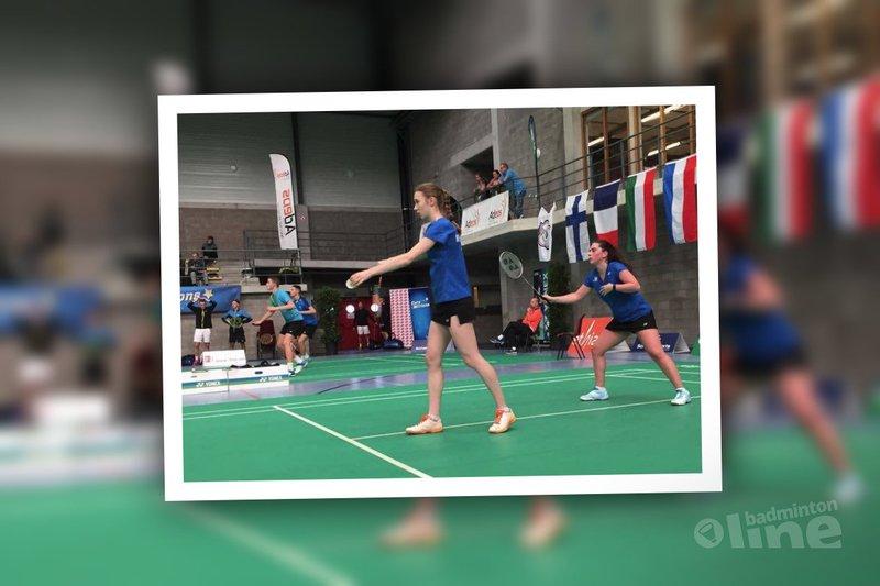 Drie kwartfinaleplaatsen voor jeugd U17 en U19 bij Belgian Junior - Badminton Nederland