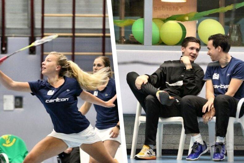 Deze afbeelding hoort bij 'Pijnlijk verlies voor VELO in de Nederlandse Badminton Eredivisie' en is gemaakt door VELO