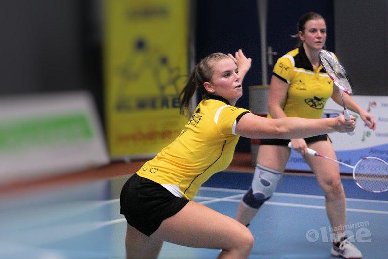 Deze afbeelding hoort bij 'Almere naar TFS Barendrecht in speelronde 6 van Nederlandse Badminton Eredivisie' en is gemaakt door Geert Berghuis