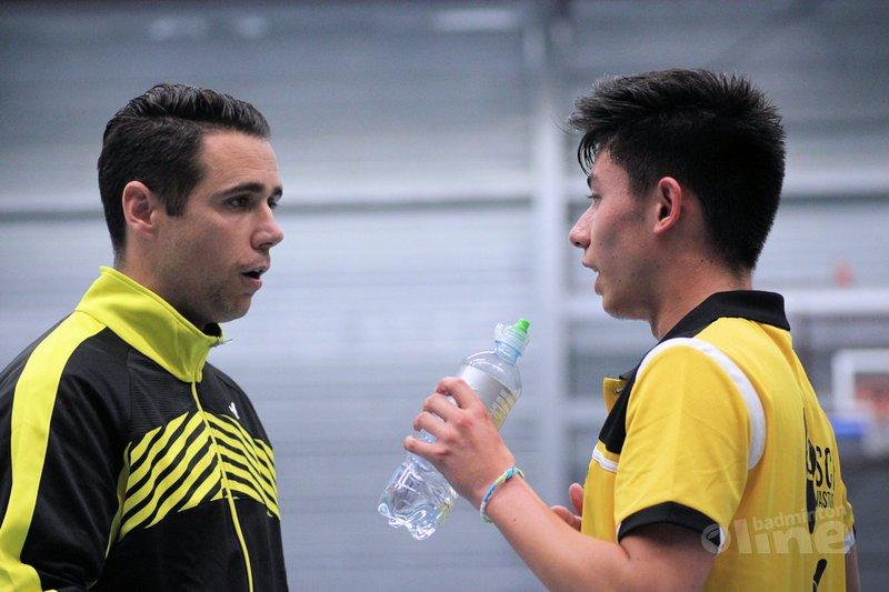 Almere bij kick-off Nederlandse Badminton Eredivisie 2018-2019 in Den Haag - Geert Berghuis