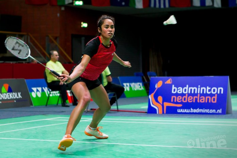 Gayle Mahulette treft Mette Poulsen in tweede ronde Dutch Open - René Lagerwaard