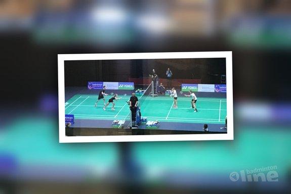 Jelle Maas en Imke van der Aar stunten in eerste ronde gemengddubbel Dutch Open - Badminton Nederland