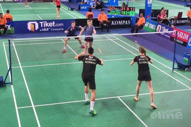 WJK 2017: Nederland wint van Tsjechië met 3-0 - Badminton Nederland