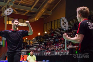 Koppels Maas-Tabeling en Arends-Jille door bij Dutch Open