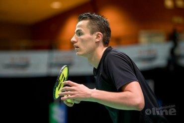 Mark Caljouw opent tegen Chen Long tijdens French Open Super Series