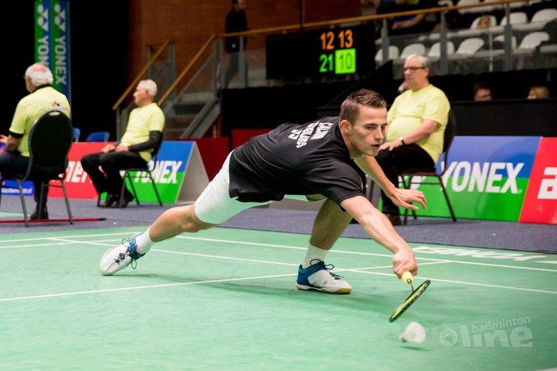 Mark Caljouw naar kwartfinales Dutch Open - Alex van Zaanen