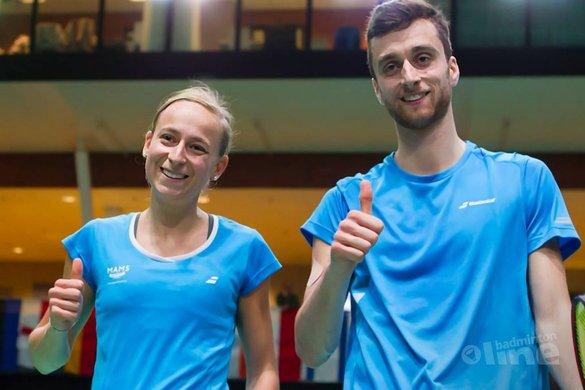 Arends en Piek door naar halve finale Dutch Open 2017 - René Lagerwaard