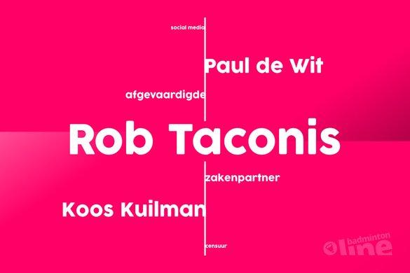 Badminton Nederland afgevaardigde Koos Kuilman over zakenpartner Rob Taconis en censuur - badmintonline.nl
