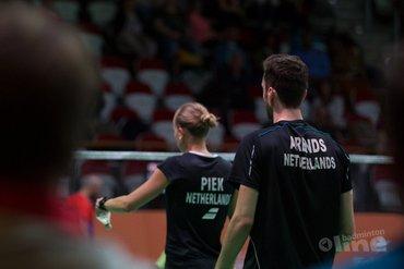 Finaleplek Canada Open 2018 blijkt Duitse brug te ver voor Arends en Piek