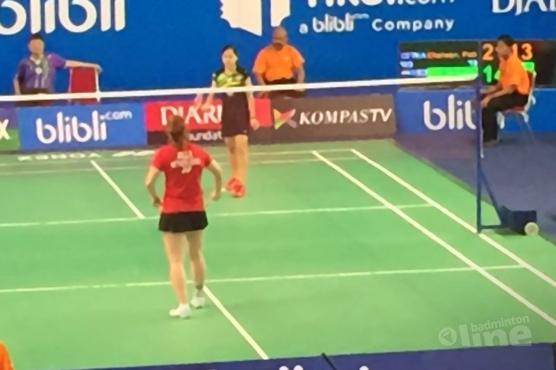 Eerste dag WJK Individueel in Indonesië achter de rug - Badminton Nederland