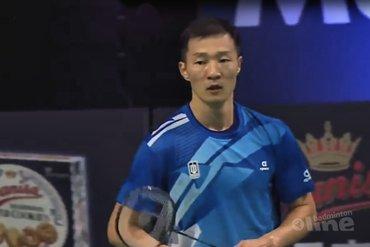 Halve finales Denmark Open: tijd lijkt geen grip te hebben op 37-jarige Lee Hyun Il