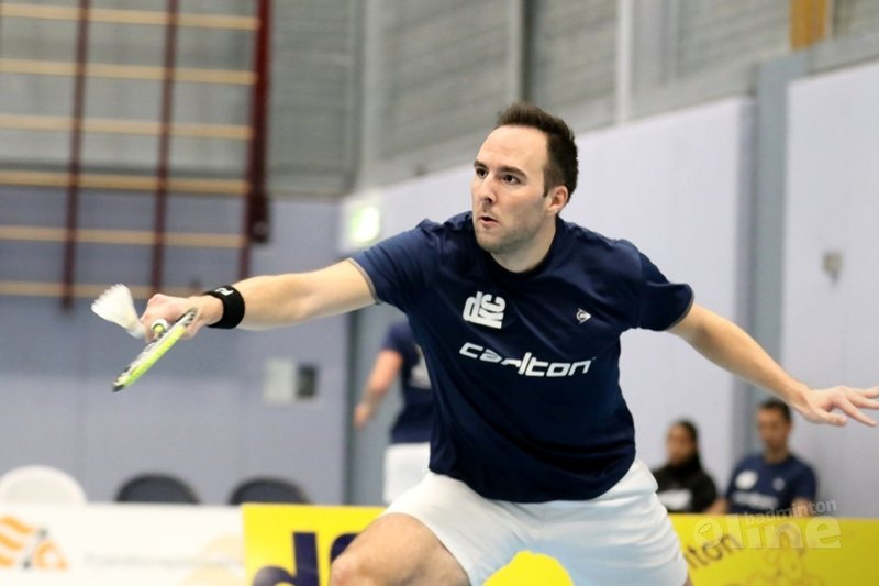 Eerste halve finale Nederlandse Badminton Eredivisie: DKC vs Duinwijck - Ashton Tokromo