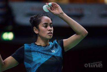 Badmintontip van topbadmintonner Gayle Mahulette: wat doe je als je matchpoint tegen hebt?
