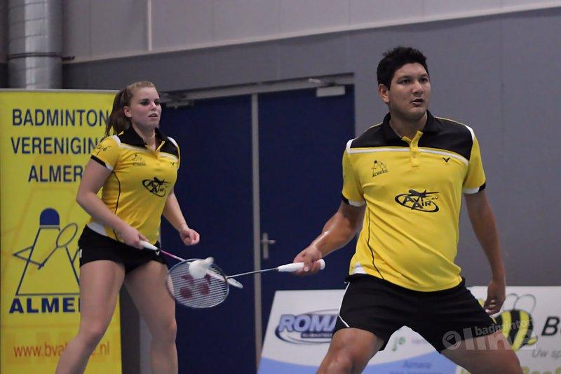 Almere tankt opnieuw vertrouwen in de Nederlandse Badminton Eredivisie - Geert Berghuis