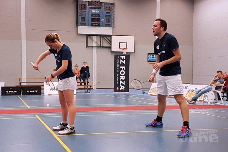DKC wordt vierde in de poule Nederlandse Badminton Eredivisie - Marieke Kuiper