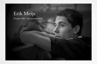 Afscheid Erik Meijs op vrijdagmiddag in Zoetermeer
