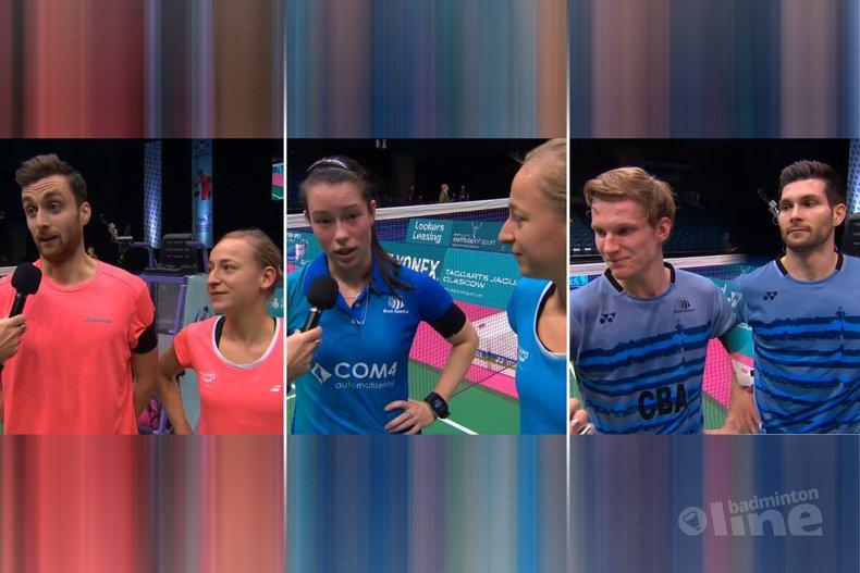 Deze afbeelding hoort bij 'Vijf Nederlandse winnaars bij Scottish Open 2017' en is gemaakt door Badminton Scotland / badmintonline.nl
