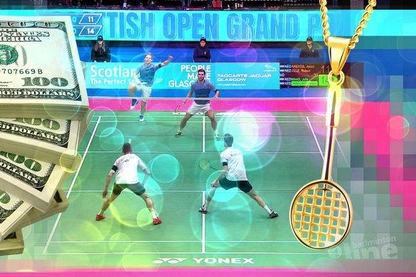 Nederlandse topbadmintonners cashten ruim 22.000 dollar prijzengeld in Schotland - badmintonline.nl