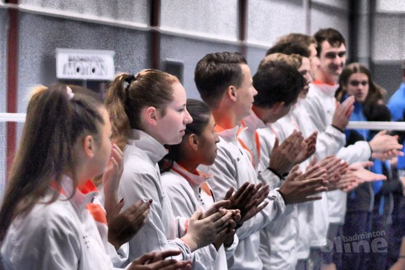 Duinwijck wil 25e landstitel Nederlandse Badminton Eredivisie vieren in oude Duinwijckhal - Geert Berghuis / badmintonline.nl
