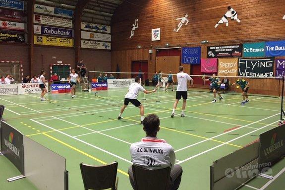 Deze afbeelding hoort bij 'VELO start tweede fase Nederlandse Badminton Eredivisie met aandacht voor Erik Meijs' en is gemaakt door VELO