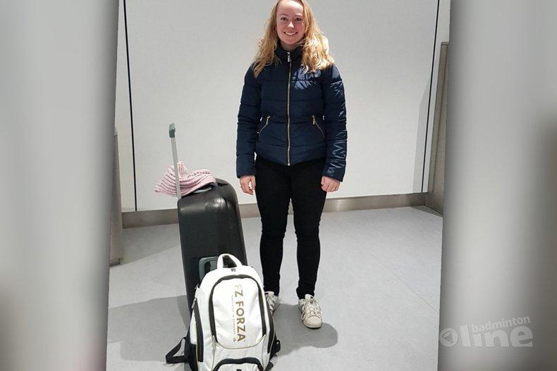 Deze afbeelding hoort bij 'Charissa Kuiper: Leven gewijd aan het badminton' en is gemaakt door Charissa Kuiper